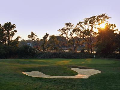 Blue Heron Golf Course #13 Hole Green
