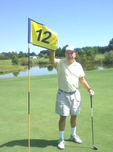 Joe Shanahan Hole #12 - 7 iron August 8, 2015